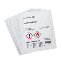 Wet Alcohol Wipes - Box of 50