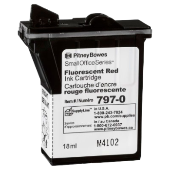 K700 Red Fluoro Ink Cartridge